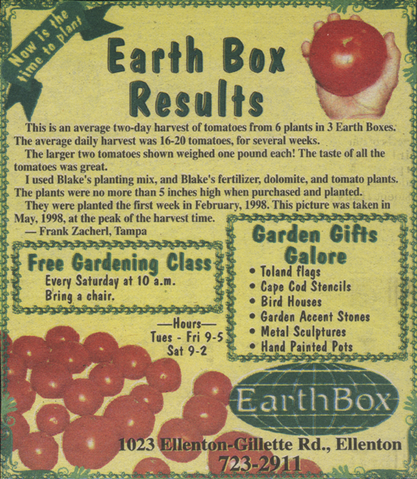 Earth Box ad