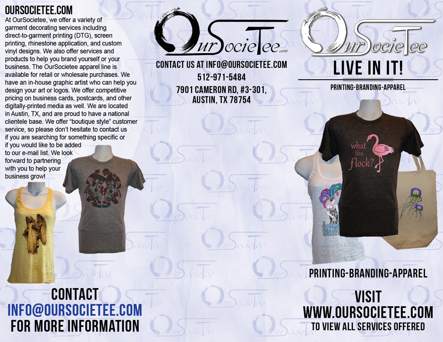 OurSocieTee brochure