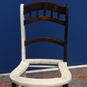 Cane-seat chair