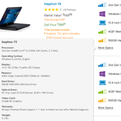 Dell Laptop page