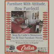 Cadle's ad