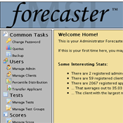 MSI Forecaster page